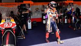 Marquez Terancam Absen di Tiga Seri, Yamaha Pesimistis