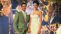 <p>Nadiem Makarim menikah dengan Franka Franklin pada Juni 2014, Bunda.</p>