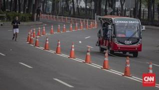 FOTO: Naik Shuttle Bus Gratis di GBK Usai Lelah Berolahraga