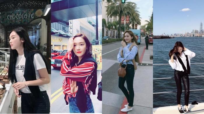 Suka Traveling? Intips Yuk Gaya Traveling Jessica Jung Satu Ini