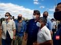 VIDEO: Diklaim Negatif Covid-19, Bolsonaro Temui Pendukung