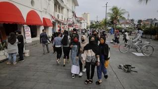 Libur Panjang, Kota Tua Dikunjungi 2.412 Orang