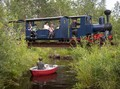 FOTO: Dunia Mungil dari Jendela Kereta Uap Mini di Rusia