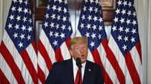 Trump Sebut Cawapres Kamala Harris Sosok Mengerikan
