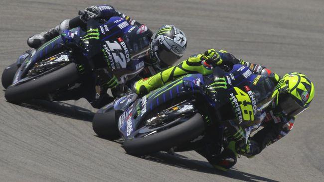 Valentino Rossi membeberkan perbedaan antara dirinya dengan Maverick Vinales dalam situasi kualifikasi dan balapan MotoGP.