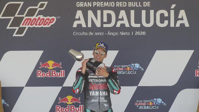 Fabio Quartararo mencatat start sempurna di dua seri awal MotoGP 2020. Namun start sempurna itu tak selalu berujung gelar juara dunia.