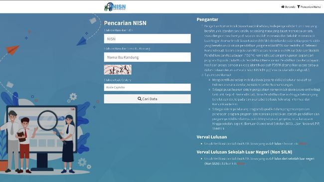 Nomor Induk Siswa Nasional (NISN) ini berlaku mulai jenjang dasar hingga tinggi. Berikut tips dan cara cek NISN siswa online terbaru di Kemendikbud.