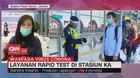 VIDEO: Layanan Rapid Test di Stasiun KA