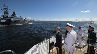 Putin Sebut Kemampuan Angkatan Laut Rusia Sedang Tumbuh