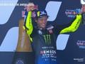 VIDEO: Detik-detik Rossi Podium Serasa Juara MotoGP Andalusia