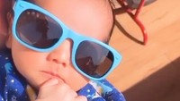 <p>Anak pertama dari pasangan Cut Meyriska dan Roger Danuarta tersebut diberi namaShaquille Kaili Danuarta.(Foto: Instagram @rogerojey)</p>