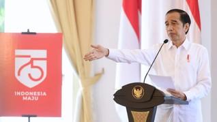 Jokowi Sebut Angka Kematian Covid RI Lebih Tinggi dari Global