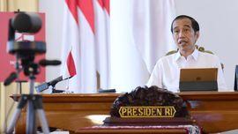 Jokowi Ingatkan Gubernur: Hati-hati yang Angka Corona Tinggi
