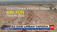 VIDEO: Kertas dari Limbah Tapioka