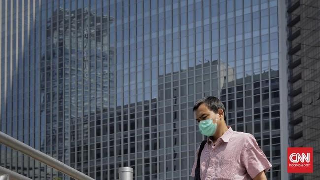Perkantoran menjadi salah satu klaster penyebaran virus corona yang menyumbang angka tinggi pertambahan kasus di ibu kota.