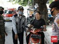 FOTO: Razia Wajib Masker dan Pemberian Denda di Depok