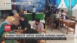 VIDEO: Rumah Kreatif untuk Warga Kurang Mampu di Banjarmasin