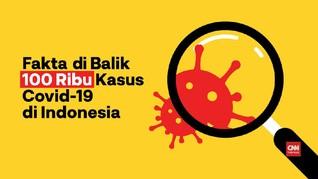 VIDEO: Fakta di Balik 100 Ribu Kasus Covid-19 di Indonesia