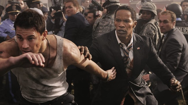 Sinopsis White House Down di Sahur in The Movies Trans TV