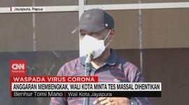 VIDEO: Wali Kota Jayapura Minta Tes Massal Dihentikan