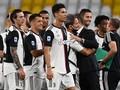 FOTO: Gestur Ronaldo di Perayaan Juara Juventus