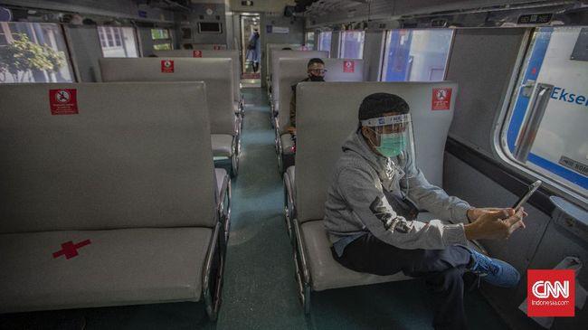 KAI Daop 1 Jakarta kembali menambah perjalanan kereta api jarak jauh pada Agustus 2020. Berikut syarat melakukan perjalanan dengan kereta api.