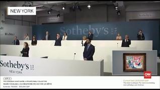 VIDEO: Lelang Virtual Sotheby, Karya Termahal Terjual Rp390 M