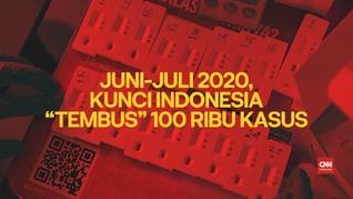 VIDEO: Juni-Juli, Kunci Indonesia 'Tembus' 100 Ribu Kasus
