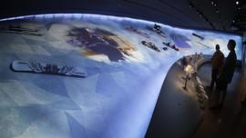 FOTO: Museum Olimpiade dan Paralimpiade AS Rp1,3 Triliun