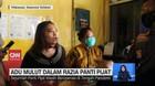 VIDEO: Adu Mulut Dalam Razia Panti Pijat di Makassar