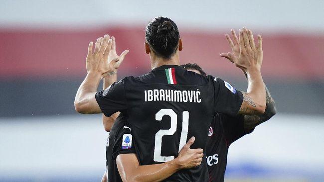 Sebanyak empat statistik ciamik ditorehkan Zlatan Ibrahimovic pada laga Sampdoria vs AC Milan yang berakhir untuk kemenangan tim tamu 4-1.