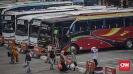 Jelang Cuti Bersama, Terminal Kampung Rambutan Masih Sepi