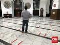 Masjid Cut Mutia & Al Azhar Salat Id dengan Protokol Covid