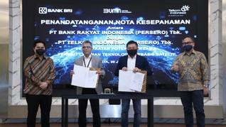Telkom Gandeng BRI untuk Tingkatkan Layanan Satelit