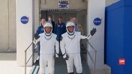 VIDEO: Astronaut Space-X Kembali Ke Bumi