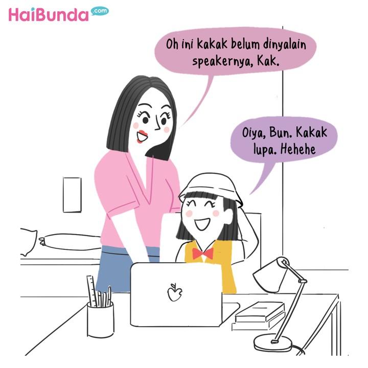 Komik HaiBunda Sekolah