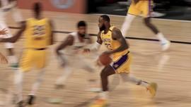 FOTO: Lakers Menang Tipis Atas Clippers Berkat LeBron