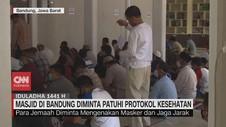 VIDEO: Masjid di Bandung Diminta Patuhi Protokol Kesehatan