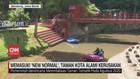 VIDEO: Memasuki New Normal, Taman Kota Alami Kerusakan