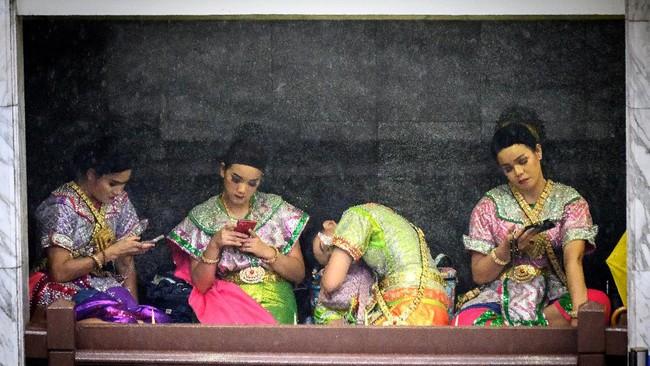 Rangkuman foto-foto unik dari seluruh dunia yang dirangkum redaksi CNNIndonesia.com