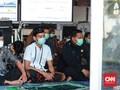 Pasien Positif Covid-19 Salat Id Bersama di RS Darurat Jatim