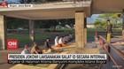 VIDEO: Presiden Jokowi Laksanakan Salat Id Secara Internal