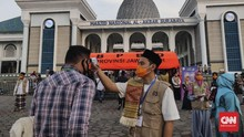 Masjid Al Akbar Surabaya Gelar Salat Ied, Jemaah Dibatasi
