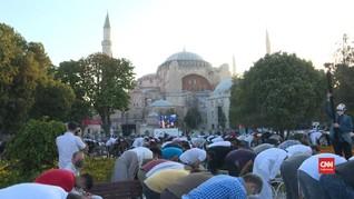 VIDEO: Salat Iduladha Pertama di Hagia Sophia