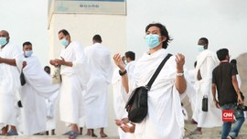 VIDEO: Jemaah Haji Laksanakan Wukuf di Tengah Pandemi