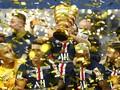 PSG Juara Piala Liga usai Kalahkan Lyon Lewat Adu Penalti