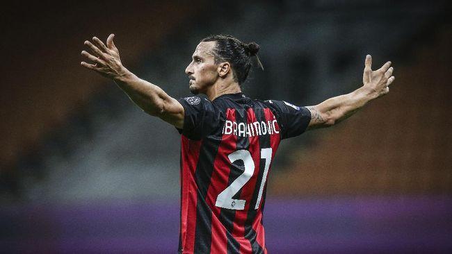 Zlatan Ibrahimovic dilaporkan positif terinfeksi virus corona dan akan absen saat AC Milan tampil di Liga Europa.
