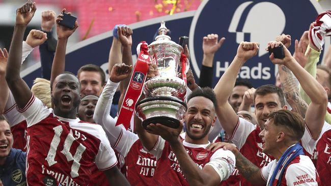 Arsenal jadi juara Piala FA 2020 dan mempertegas status The Gunners sebagai tim dengan gelar terbanyak di kompetisi tersebut.