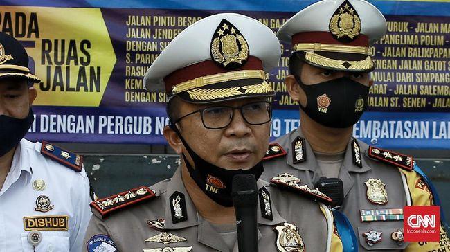 Tersangka penyenggol mobil polisi yang membuatnya menabrak pemotor di Jaksel, H, terancam hukuman 12 tahun bui.