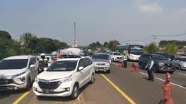 381 Ribu Mobil 'Mudik' Keluar Jabotabek ke Kampung Halaman